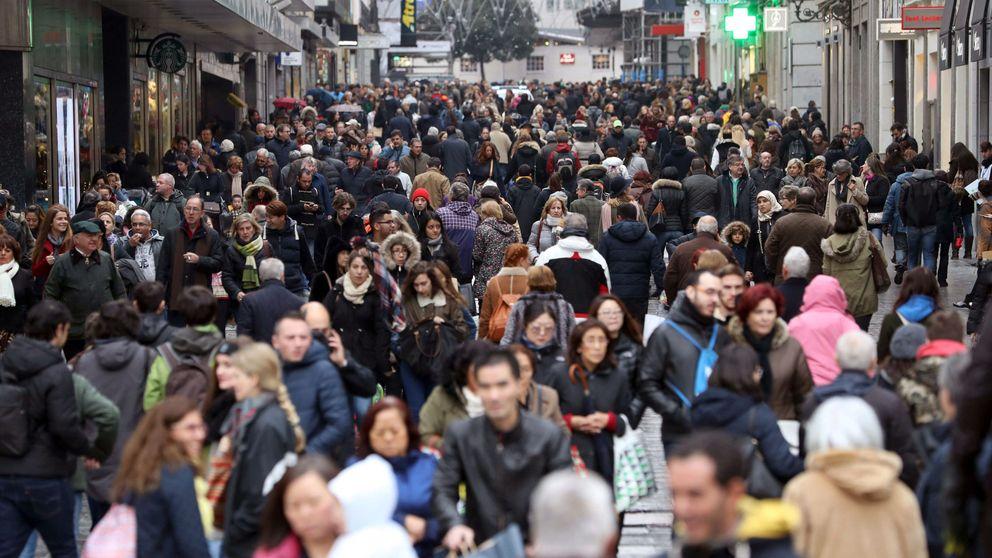 Las calles aledañas a Sol serán de sentido único para los peatones en Navidad