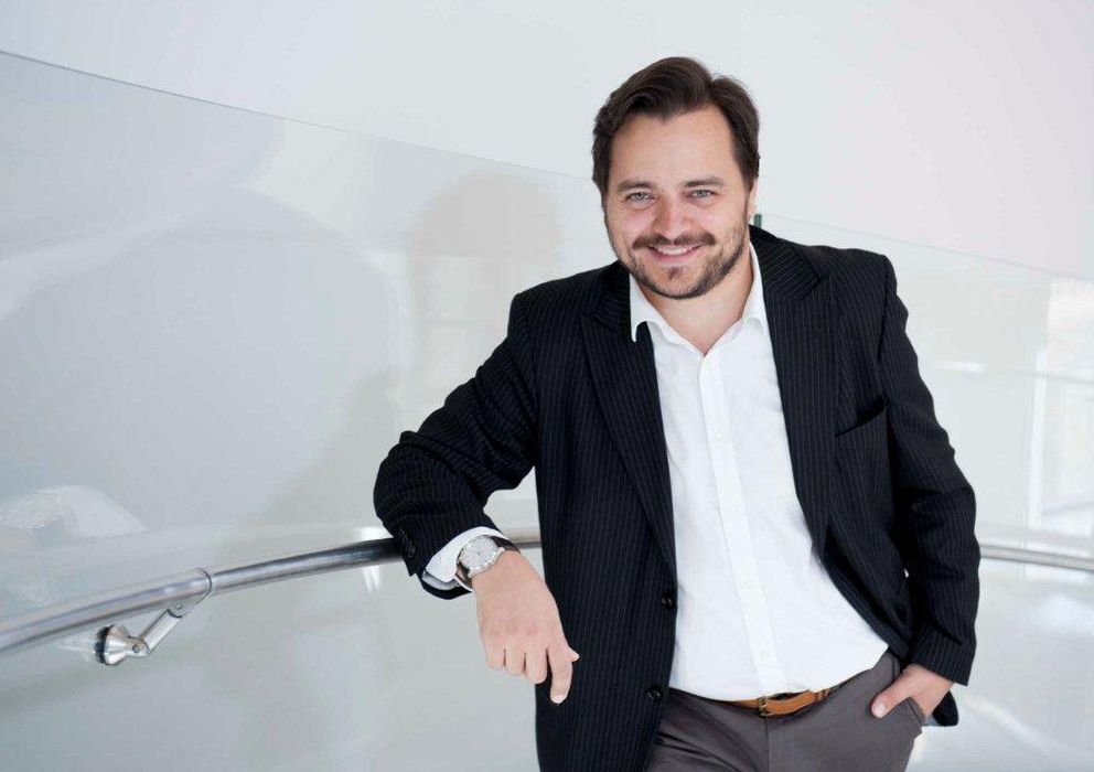 Foto: El periodista y escritor David Felipe Arranz