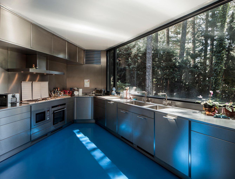 Decoraci n cocinas abiertas al exterior ocho ideas de for Vistas de cocinas