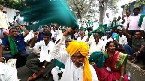 Protesta de productores de caña de azúcar