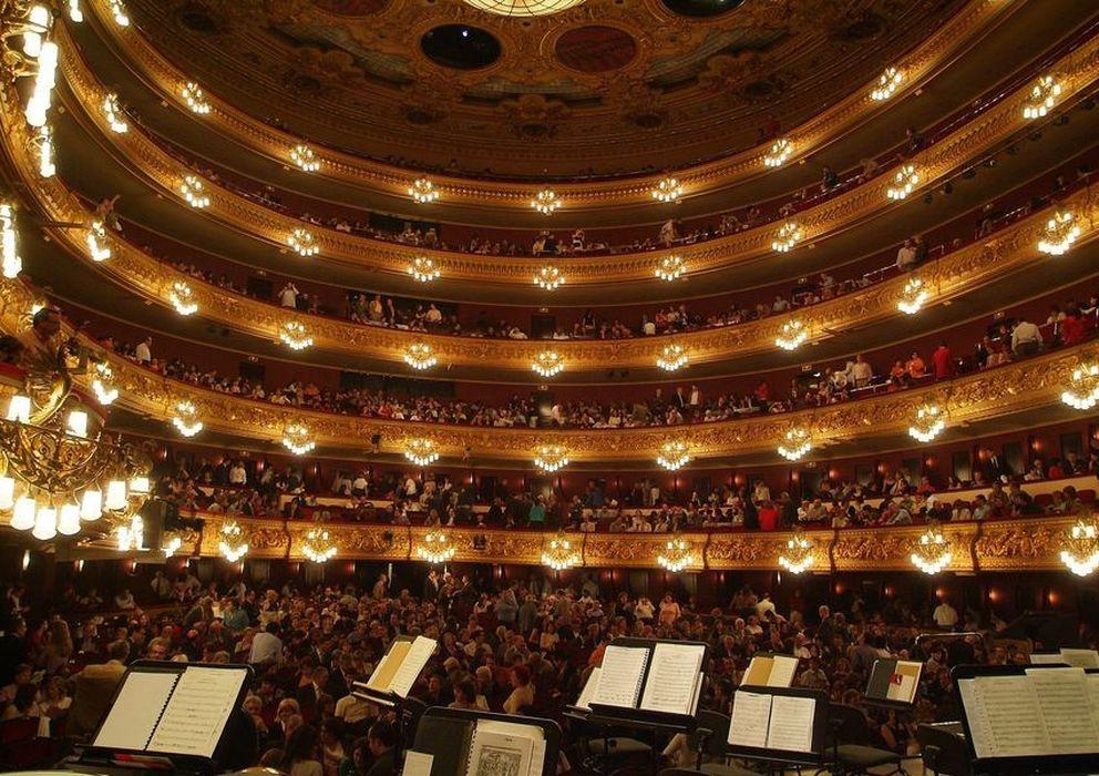 Foto: Gran Teatre del Liceu.