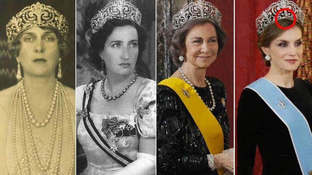 El último (y desconocido) problema de Letizia con su corona