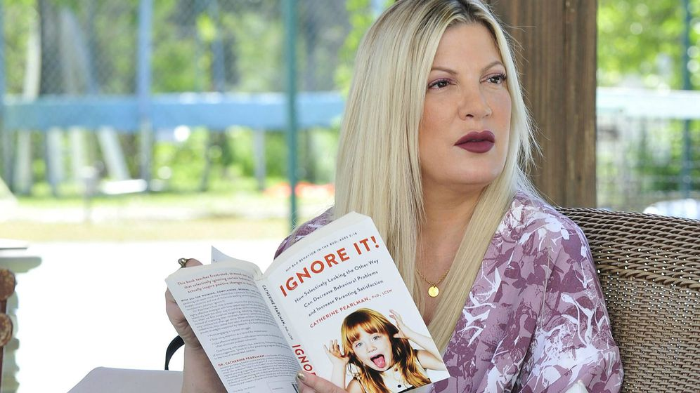 Foto: La actriz Tori Spelling. (Cordon Press)