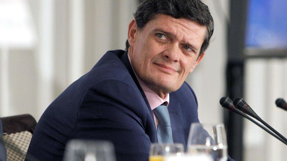 Foto: El presidente de la sociedad de gestión de activos, Sareb, Jaime Echegoyen. (EFE)