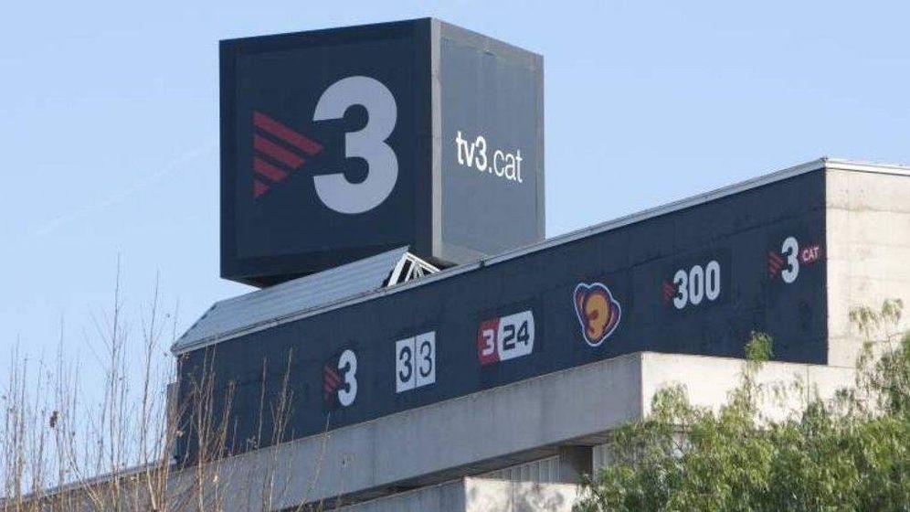 Foto: Sede de TV3. (EFE)