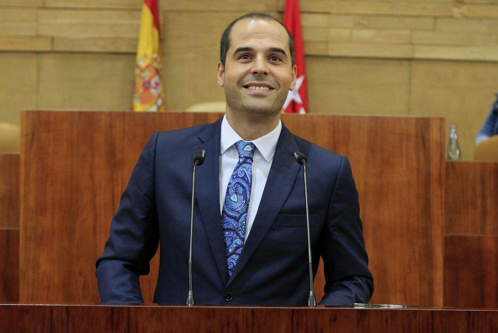 Foto: El portavoz de Ciudadanos en la Asamblea de Madrid, Ignacio Aguado. (EFE)