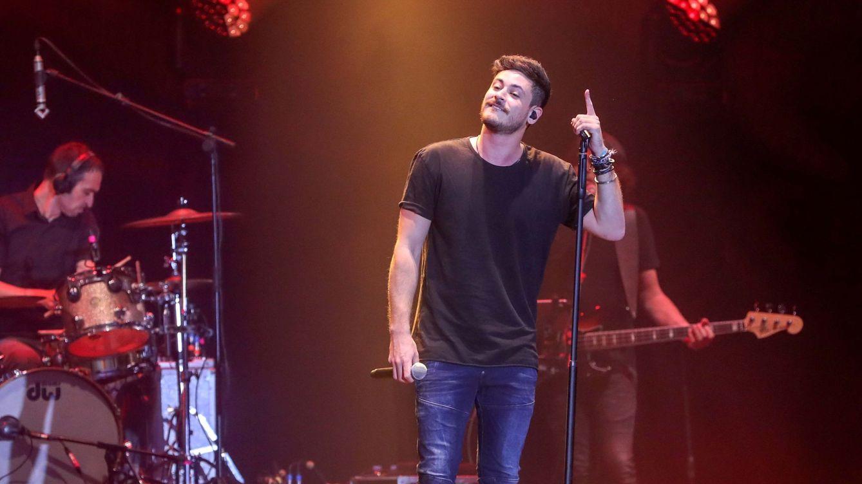Foto: Luis Cepeda, en una imagen de archivo en un concierto en 2018. (EFE)