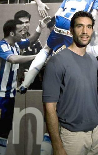 Foto: Fernando Sanz: He dormido en una cama hinchable en el club para salvar al Málaga