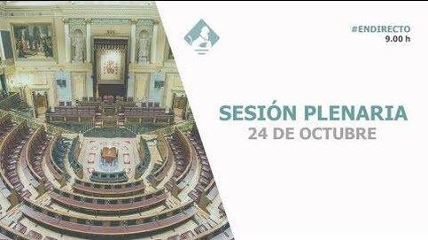 Siga en directo el pleno del Congreso sobre Europa y Arabia