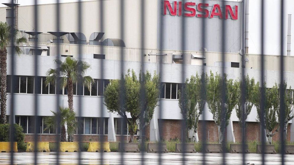 Foto: Vista exterior de la planta de Nissan en la Zona Franca de Barcelona.
