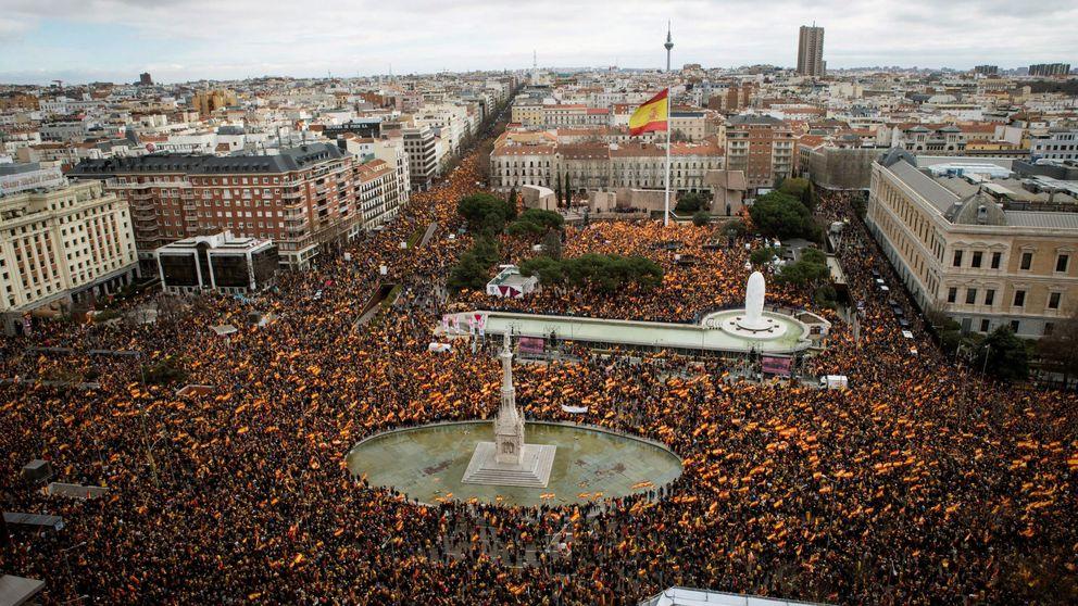 Guerra de cifras: de los 45.000 asistentes del Gobierno a los 200.000 de los organizadores