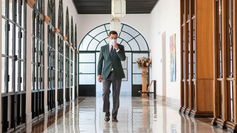 El presidente de la Junta de Andalucía, Juanma Moreno. (EFE)