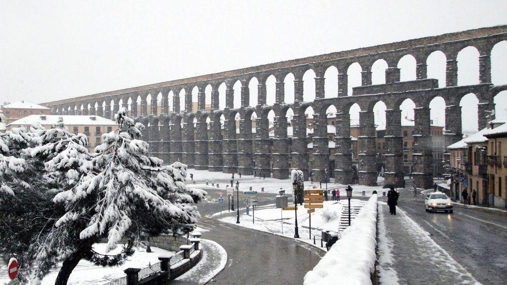 Foto: Nieve en segovia