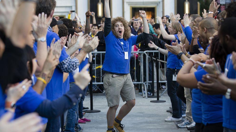 Apple vendió más 'smartphones' que Samsung por primera vez