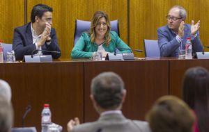 El plan de Susana Díaz: Secretaría del PSOE, adelantar elecciones y Moncloa en 2015