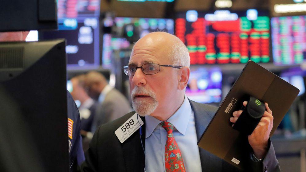 Foto: Un trader en la bolsa de Nueva York. (Reuters)