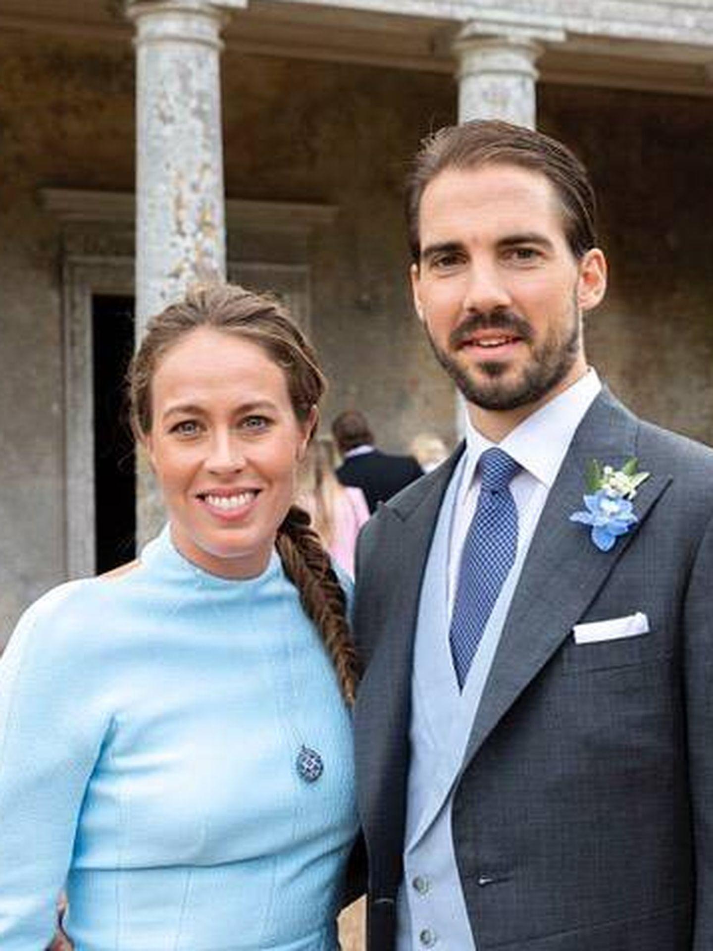 El príncipe Philippos de Grecia y su mujer, Nina Flohr. (Instagram @ninaflohr)