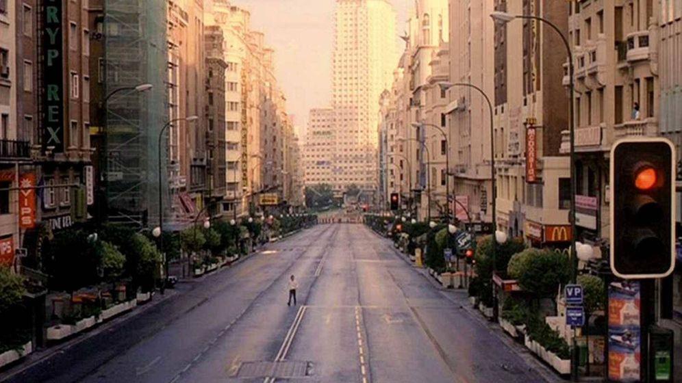 Foto: Como Eduardo Noriega en 'Abre los ojos'.