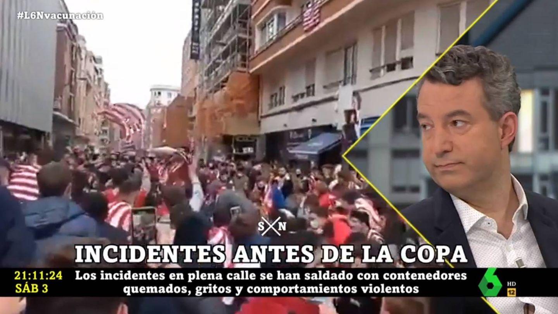 César Carballo, en 'La Sexta noche'. (Atresmedia).