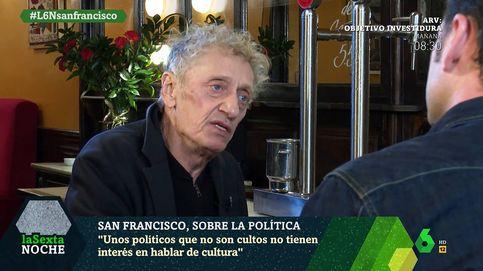 Enrique San Francisco, sobre los políticos: Nos domina gente sin estudios