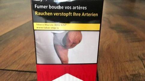 Se encuentra la foto de su pierna amputada en los paquetes de tabaco