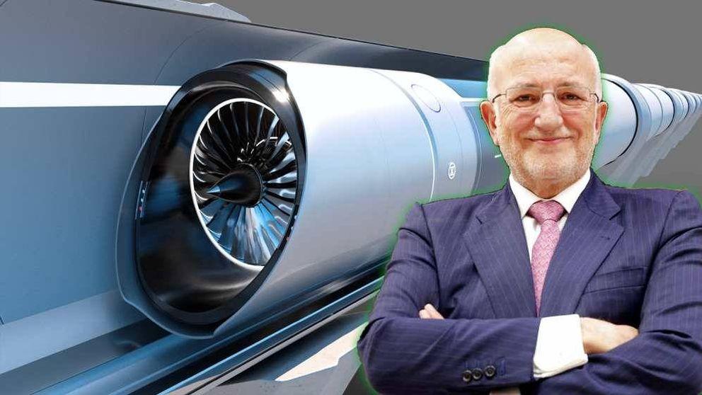 El enésimo intento de tren supersónico es español y también lo paga Juan Roig