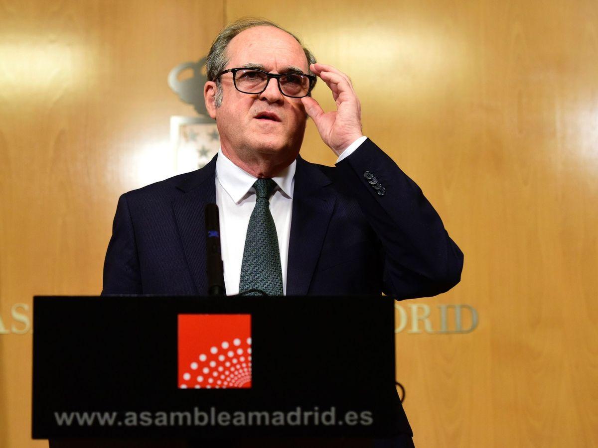 Foto: El portavoz del PSOE en la Asamblea de Madrid, Ángel Gabilondo. (EFE)