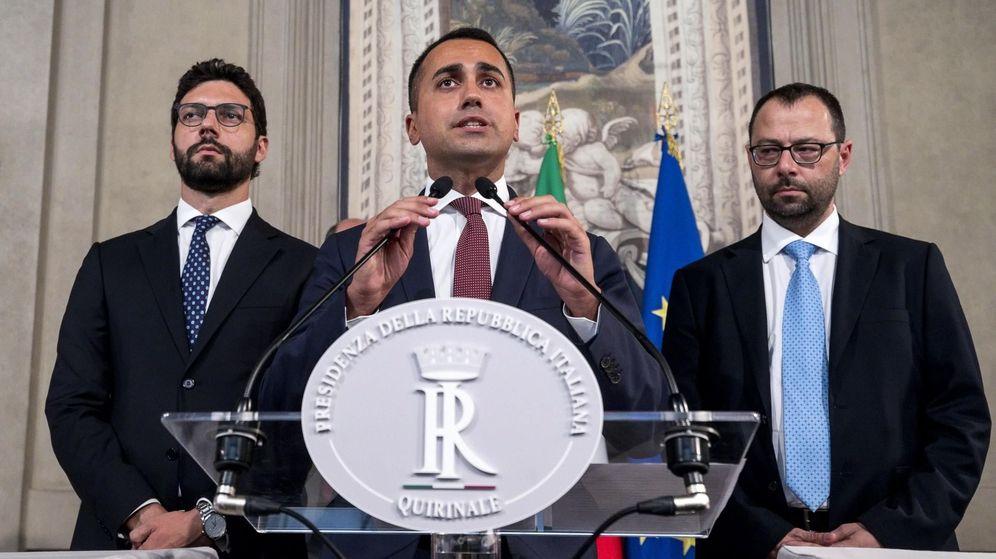 Foto: Luigi Di Maio, el líder del Movimiento 5 Estrellas. (EFE)