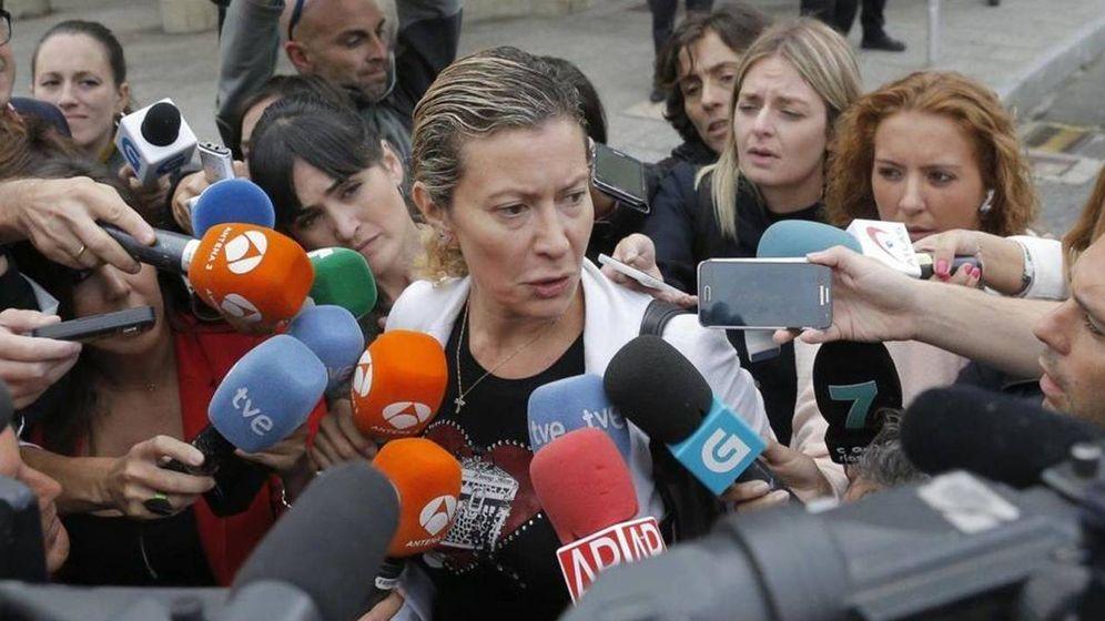 Foto:  Diana López-Pinel, madre de Diana Quer. (Efe)