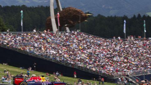 Horarios y televisión del Gran Premio de Austria de Fórmula 1
