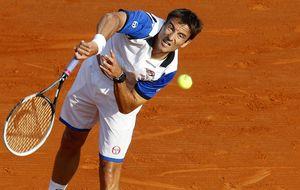 Gran remontada de Robredo y paseo autoritario de Federer en Montecarlo