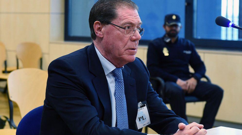 Foto: Domingo Parra, exconsejero delegado de Banco de Valencia (EFE)