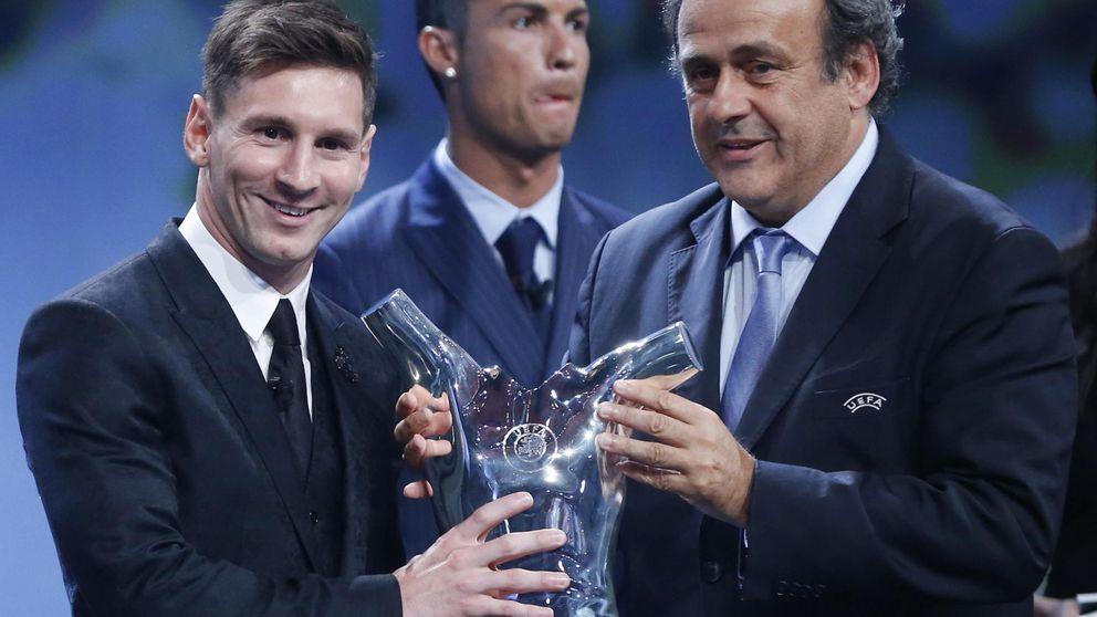 Messi repite trono de Mejor Jugador de la UEFA ante los aplausos de Cristiano
