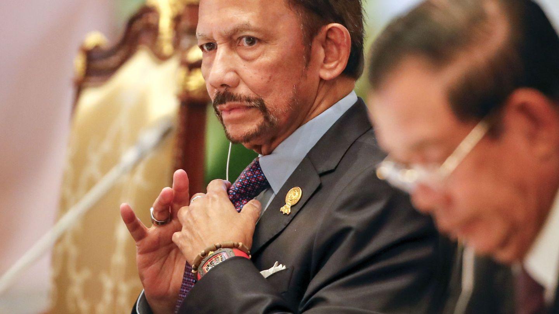 El sultán de Brunéi en una imagen de archivo. (EFE)
