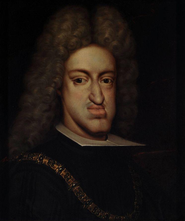 Foto: Retrato anónimo del rey Carlos II. (MNBA)