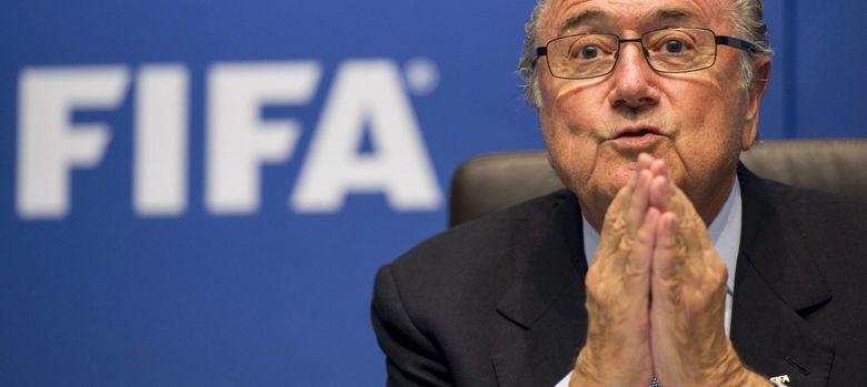 Foto: El suizo Joseph Blatter, máximo mandatario de la FIFA.