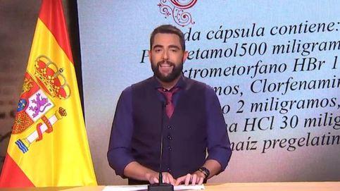 Dani Mateo se limpia la nariz con la bandera de España y La Sexta recula