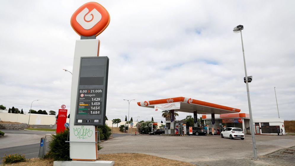 Foto: Imagen de una gasolinera de Galp. (Reuters)