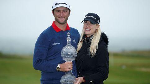 Jon Rahm sigue mejorando al golf pero no volverá a jugar al tenis con su novia