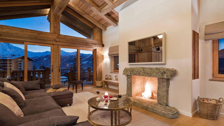 Ngeles castillo navidad viajera cinco hoteles espectaculares con chimenea para disfrutar del - Chimeneas en mallorca ...