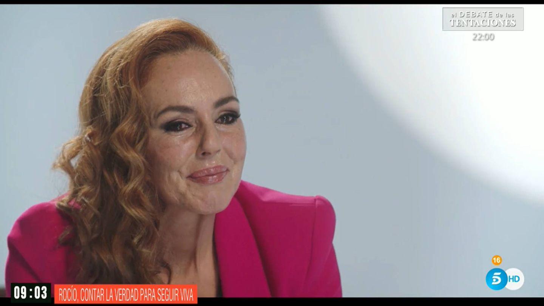 Rocío Carrasco, durante el documental. (Mediaset)