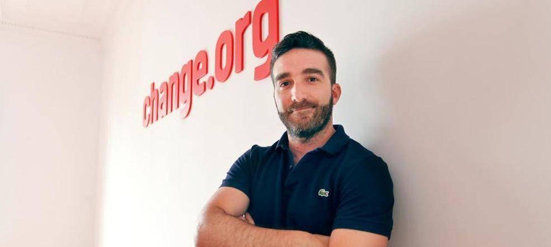 Foto: Francisco Polo, CEO de Change.org