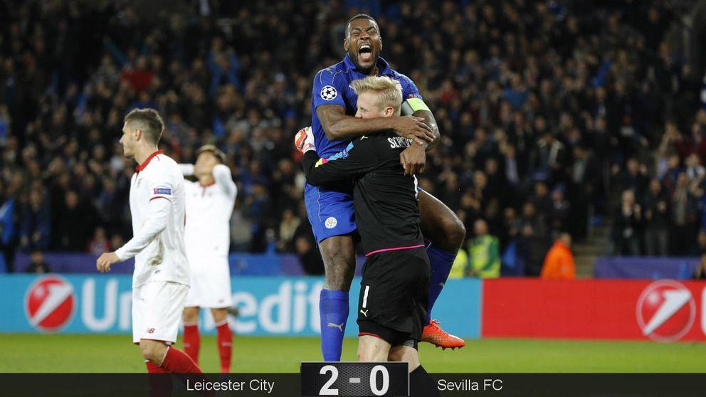 Pesadilla en Leicester: la Champions se le escapó de las manos al Sevilla
