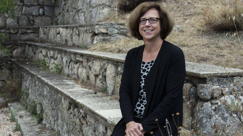 Foto: Ursula Keller, en Miraflores de la Sierra. (Fundación BBVA)