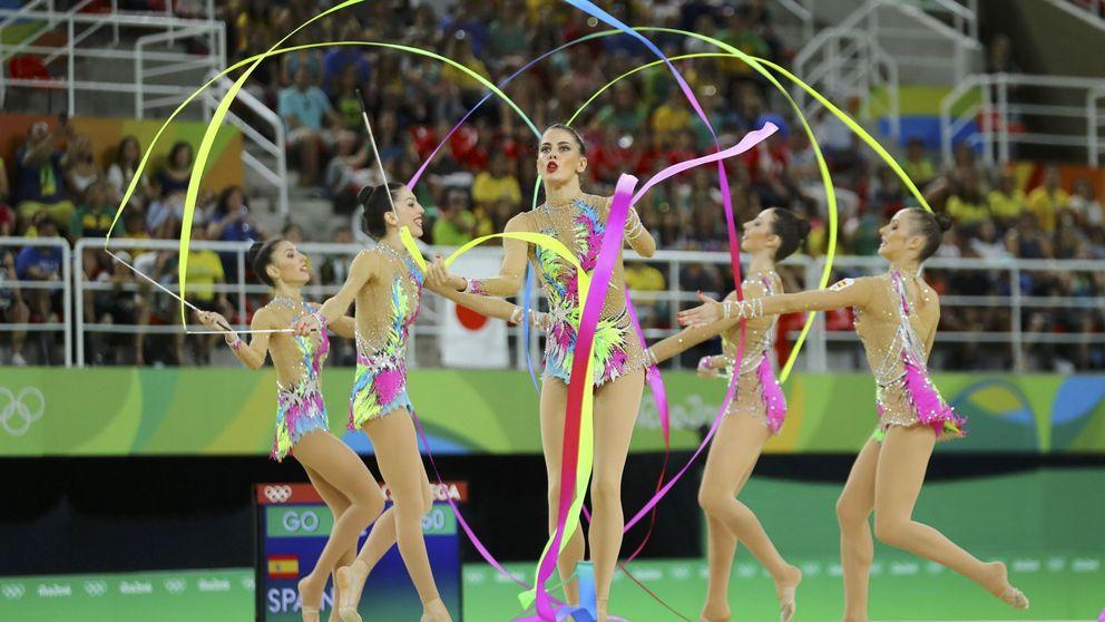 La gimnasia rítmica española, a la final con la mejor nota de la ronda previa