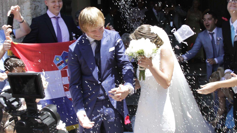 Rakitic y Raquel Mauri se marcan una boda sevillana por todo lo alto