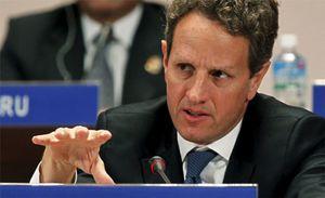 """Geithner considera """"impensable"""" que EEUU declare la moratoria de su deuda"""