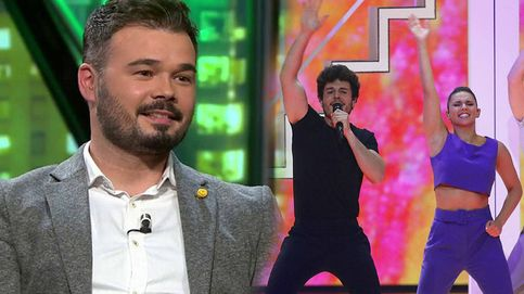 Gabriel Rufián hace sangre tras la derrota de España con Miki en Eurovisión 2019
