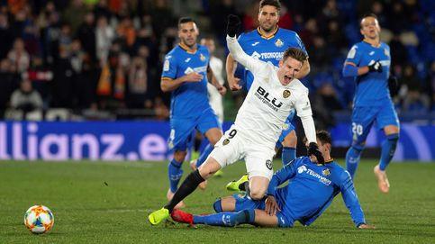 Valencia - Getafe: horario y dónde ver en TV y 'online' la Copa del Rey