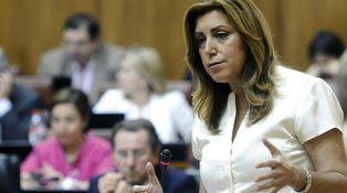 Susana Díaz tiene una margarita